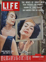LIFE/INTERNATIONAL EDITION(ライフ・1959年11月9日号/表紙・ジョーン・クロフォード)