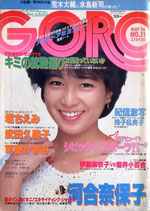 GORO・表紙・堀ちえみ(NO.11/ビジュアルマガジン)