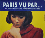 パリところどころ(パンフレット洋画)