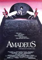 アマデウス(イラスト英字版/洋画ポスター)