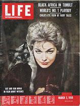 LIFE/INTERNATIONAL EDITION(ライフ・1959年3月2日号/表紙・キム・ノヴァク)