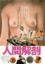 人間解剖(チラシ洋画)