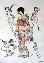野球狂の詩(水原勇気/アニメ・イメージポスター)