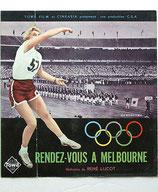 美と力の祭典・メルボルン・オリンピックの記録(仏映画/プレスシート)