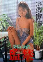 冴島奈緒 監禁(ピンク映画/邦画ポスター)