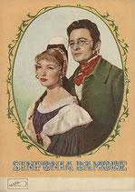 愛の交響楽 シューベルト物語(イタリア映画・外国映画社/パンフレット)