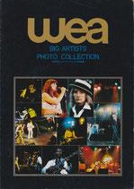 wea(ビッグ・アーティスト写真集・音楽)
