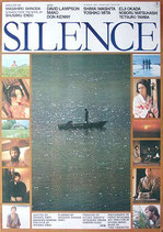 SILENCE(沈黙・英文タイトル)(邦画ポスター)