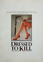 殺しのドレス(アメリカ映画/プレスシート)