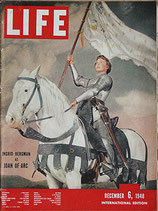 LIFE/INTERNATIONAL EDITION(ライフ・1948年12月6日号/表紙・イングリッド・バーグマン)