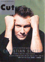 CUT・50号(表紙・クリスチャン・スレーター)