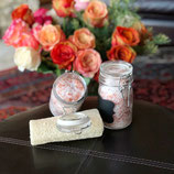 Dead Sea Salt and Rose Bath Salts