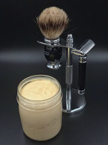 Manly Man Shaving Cream in a Jar