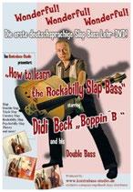 """Lehr DVD """" How To Learn The Rockabilly Slap Bass"""""""