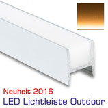 LED Lichtleiste Outdoor 1000 mm, IP67, 24V, warmweiss
