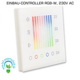Sys-One RGB+W 4 Zonen Einbau-Controller, 230V AC