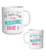 SUPER MUG DE LA MEILLEURE AMIE