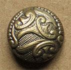 Bouton métal vieux bronze 22 mm