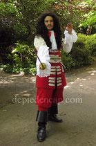 Culotte 1700 - Gardes Françaises de la Maison du Roy