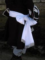Echarpe d'officier milieu XVIIe - XVIIIe