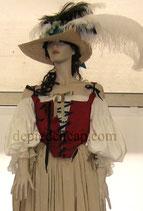 Chemise femme fin XVIIIe