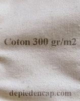 Toile de coton au mètre imperméable et imputrescible