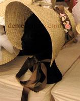 Capote-bonnet XIXe siècle