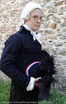Habit fin XVIIIe - Magistrat, Maire, Constituant, Représentant du peuple sous la Révolution Française