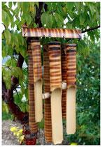 carillons à vent en bambou