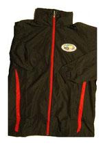 Jacket Black w/ red trim