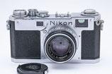 Nikon S2 前期, Nikkor-H 5cm F2 付き