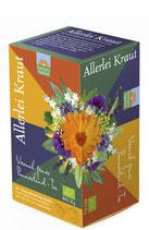 Allerlei Kraut-Viermal feiner Pommernland-Tee 30g
