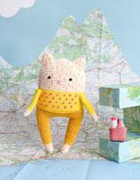 Ricorumi CAL - Roadtrip - Katze mit Picknickkorb