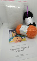 Creativ-Bubble Kürbis-Häkelset