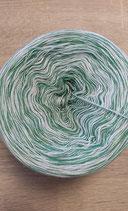 Wollie  grün weiß meliert