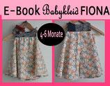 E-Book/ Schnittmuster Babykleid FIONA 4-6 Monate