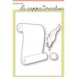 Fustella Coppia Creativa F51 FOGLIO DI PERGAMENA