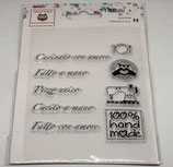 Clear Stamps Fatto a mano CST04