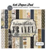TRANSATLANTIC TRAVEL 6X6 PAPER PAD  CBTR68015