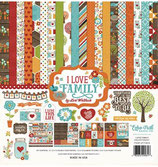"I LOVE FAMILY COLLECTION KIT ""EPILF113016"" ECHO PARK"