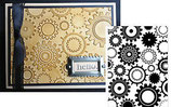 EMBOSSING FOLDER DARICE 1217-54 STEAM PUNK