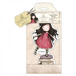 LARGE RUBBER STAMP SANTORO - NEW HEIGHTS - GOR907255