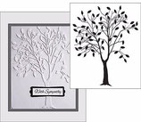 EMBOSSING FOLDER DARICE 1215-50 LEAFING TREE