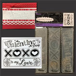 EMBOSSING FOLDER DARICE 1219-303 VELENTINE'S DAY
