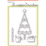 Fustella Coppia Creativa F46 Albero di Natale