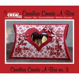 Fustella Cushion box Crealies 115634/2003