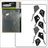 EMBOSSING FOLDER DARICE 30023117 KITES BACKGROUND