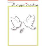 Fustella Coppia Creativa F49 COLOMBE