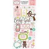 Echo Park - Chipboard - SWEET BABY GIRL EPSBG142021