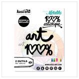 """FUSTELLA KESI' ART """"100% ART"""" OD-298"""
